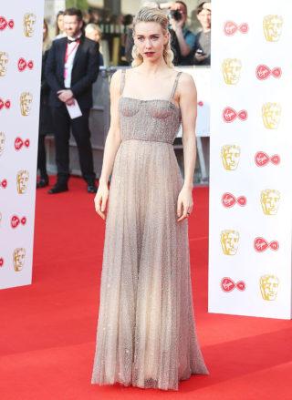 Vanessa Kirby at BAFTA TV Awards 2018 in London