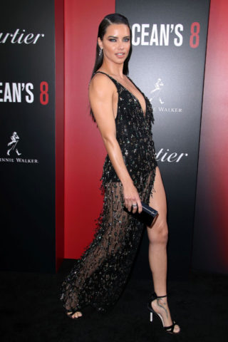 Adriana Lima at Ocean's 8 Premiere in New York