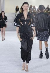 Behati Prinsloo at Alexander Wang Sprind/Summer 2019 Fashion Show in New York