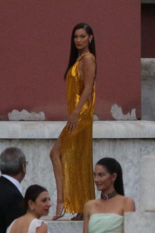 Bella Hadid in Rome