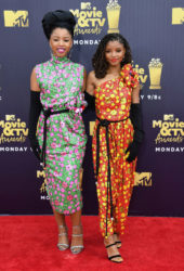Chloe X Halle at 2018 MTV Movie and TV Awards in Santa Monica