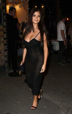 Demi Rose Mawby – Skinny Dip Fashion Launch in London