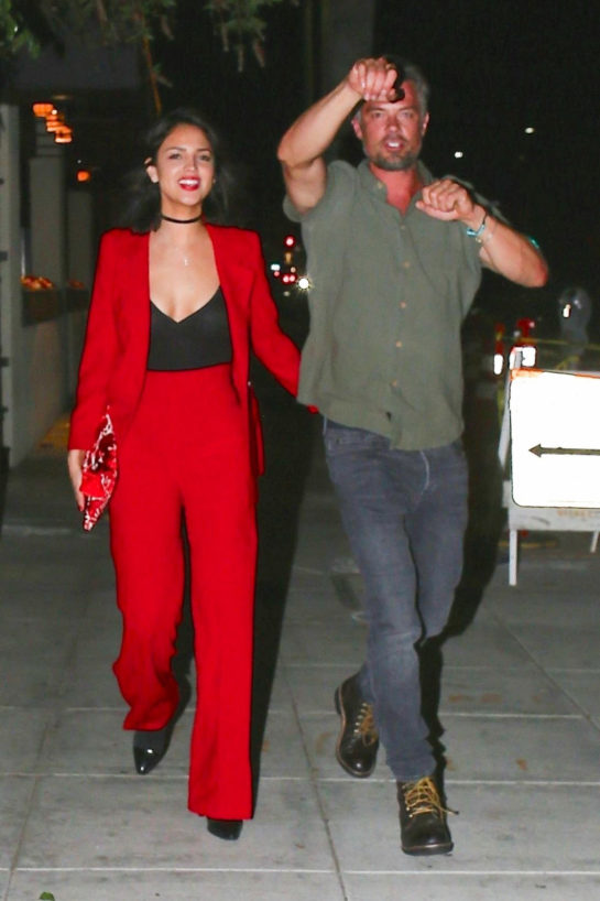 Eiza Gonzalez and Josh Duhamel Out in Beverly Hills
