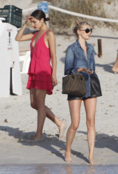 Elsa Hosk and Olivia Culpo Out in Formentera