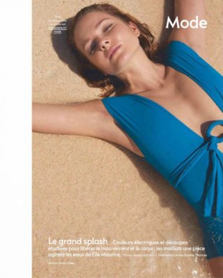 Eniko Mihalik in Marie Claire Magazine (France July 2018)