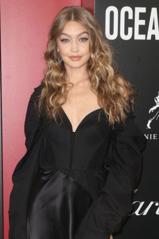 Gigi Hadid at Ocean's 8 Premiere in New York