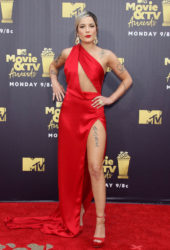 Halsey at 2018 MTV Movie and TV Awards in Santa Monica