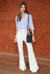Iris Mittenaere – 2018 French Open at Roland Garros