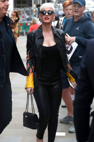 Katy Perry Out and About in London