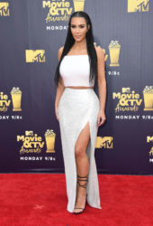 Kim Kardashian at 2018 MTV Movie and TV Awards in Santa MonicaKim Kardashian at 2018 MTV Movie and TV Awards in Santa Monica