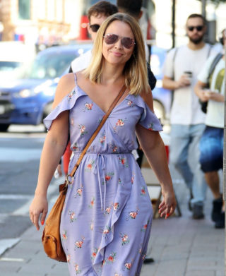 Kimberley Walsh Leaves Intertalent House in London
