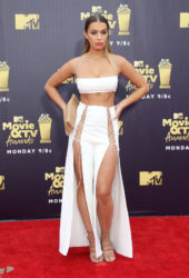 Liv Pollock at 2018 MTV Movie and TV Awards in Santa Monica