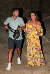 Lucy Mecklenburgh and Ryan Thomas Night Out in Mykonos