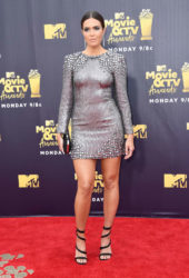 Mandy Moore at 2018 MTV Movie and TV Awards in Santa Monica