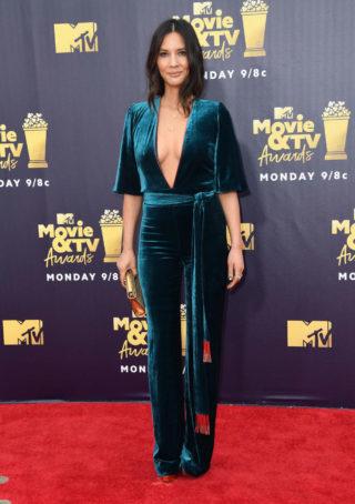 Olivia Munn at 2018 MTV Movie and TV Awards in Santa Monica