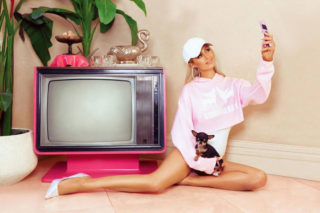 Paris Hilton - Boohoo On 2000's Inspired Collection June 2018