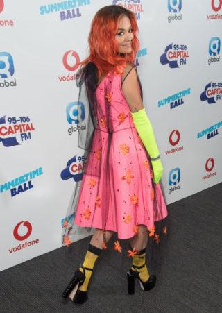 Rita Ora at Capital Radio Summertime Ball 2018 in London