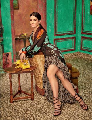 Sandra Bullock in Caras Magazine (Colombia June 2018)