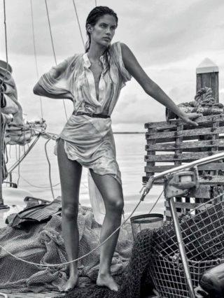 Sara Sampaio in Vogue Magazine (Mexico June 2018)