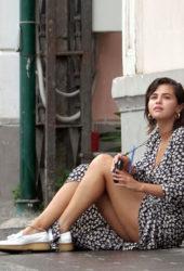 Selena Gomez on Holiday in Capri