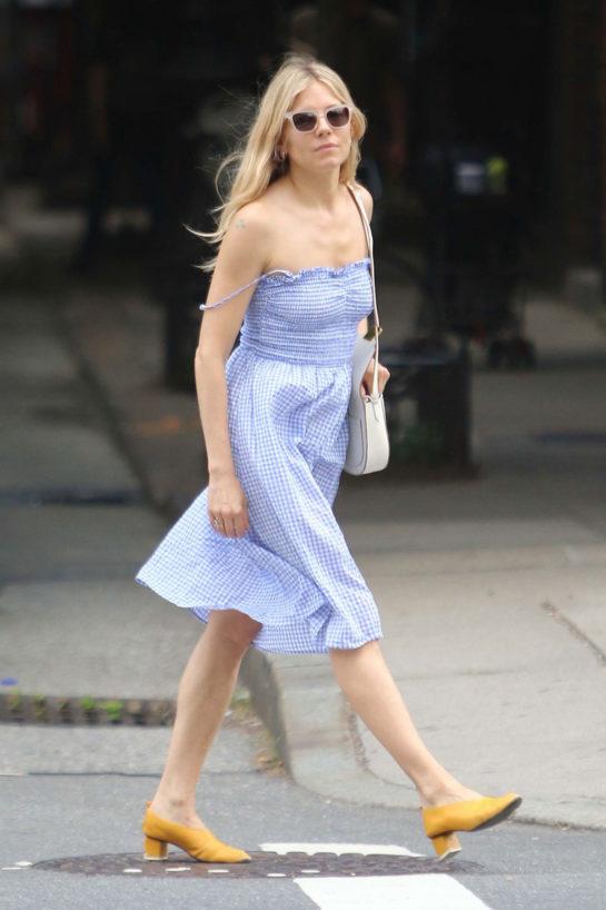 Sienna Miller in New York City