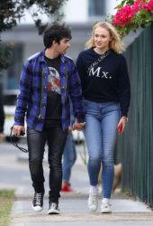 Sophie Turner and Joe Jonas in Sydney