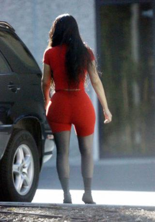 Kim Kardashian in Calabasas