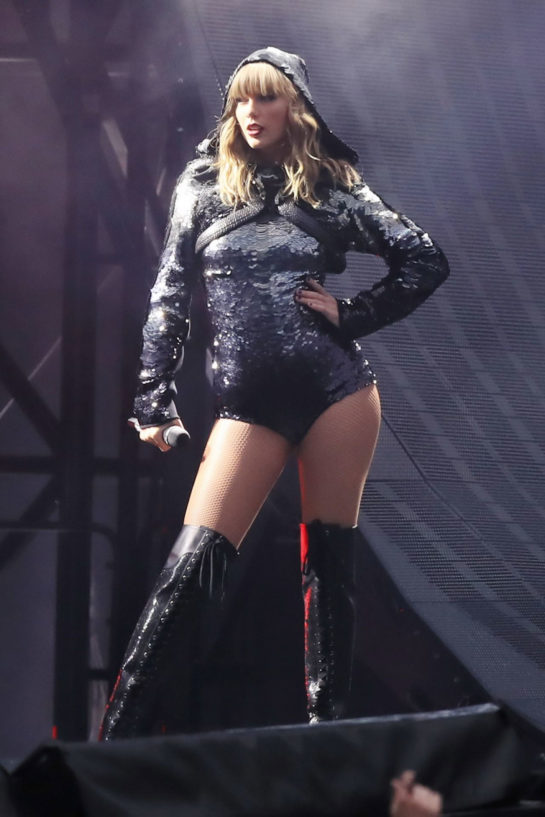 Taylor Swift Performs at Reputation Tour in Manchester