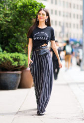 Victoria Justice Out and About in New York