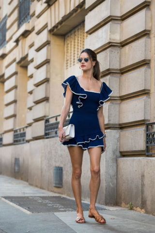 Alessandra Ambrosio Out and About in Paris