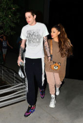 Ariana Grande and Pete Davidson Night Out in New York