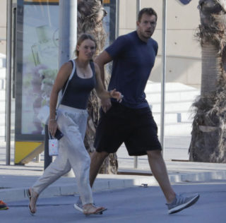 Caroline Wozniacki Out and About in Barcelona