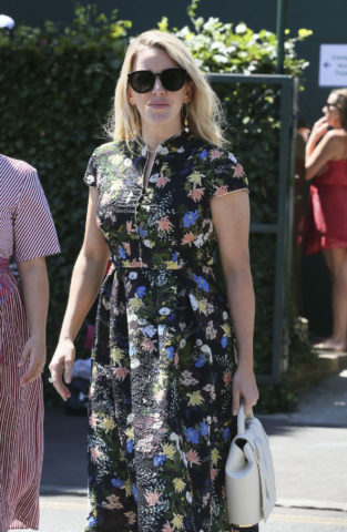 Ellie Goulding Out at Wimbledon