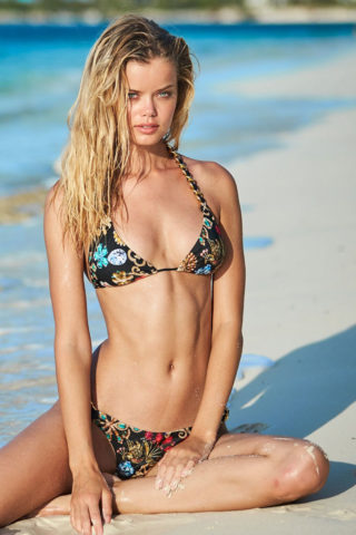 Frida Aasen for Sauvage Swimwear 2018 Collection