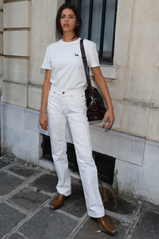 Georgia Fowler Out and About in Paris