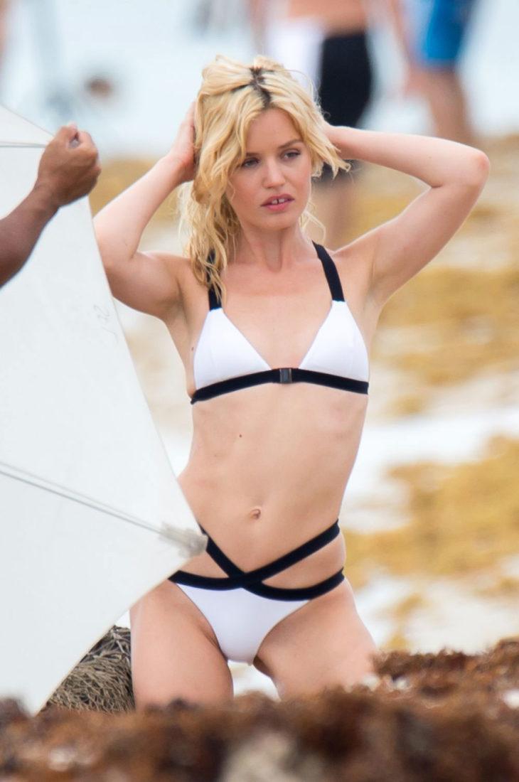 Georgia May Jagger in Bikini at a Photoshoot in Miami