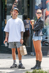 Hailey Baldwin and Justin Bieber Out in New York