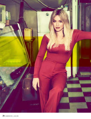 Hilary Duff in Cosmopolitan Magazine (Australia June 2018)