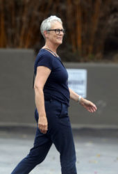 Jamie Lee Curtis Out in Pacific Palisades