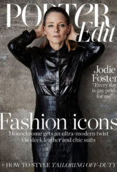 Jodie Foster for Porter Edit Magazine (July 2018)