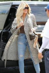 Khloe Kardashian Out in Sherman Oaks