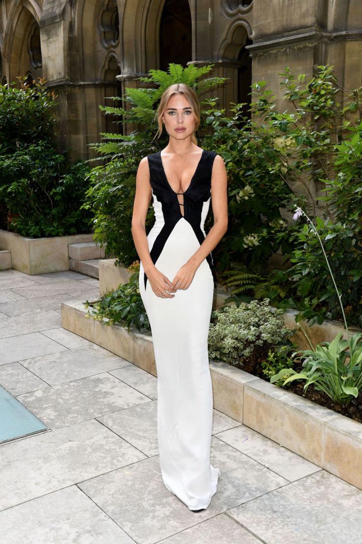 Kimberley Garner at Haute Couture Paris Fashion Week in Paris