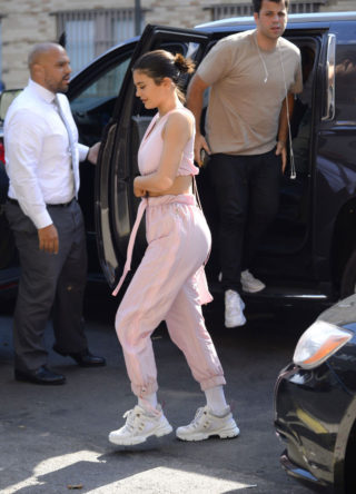 Kylie Jenner Out Shopping in New York