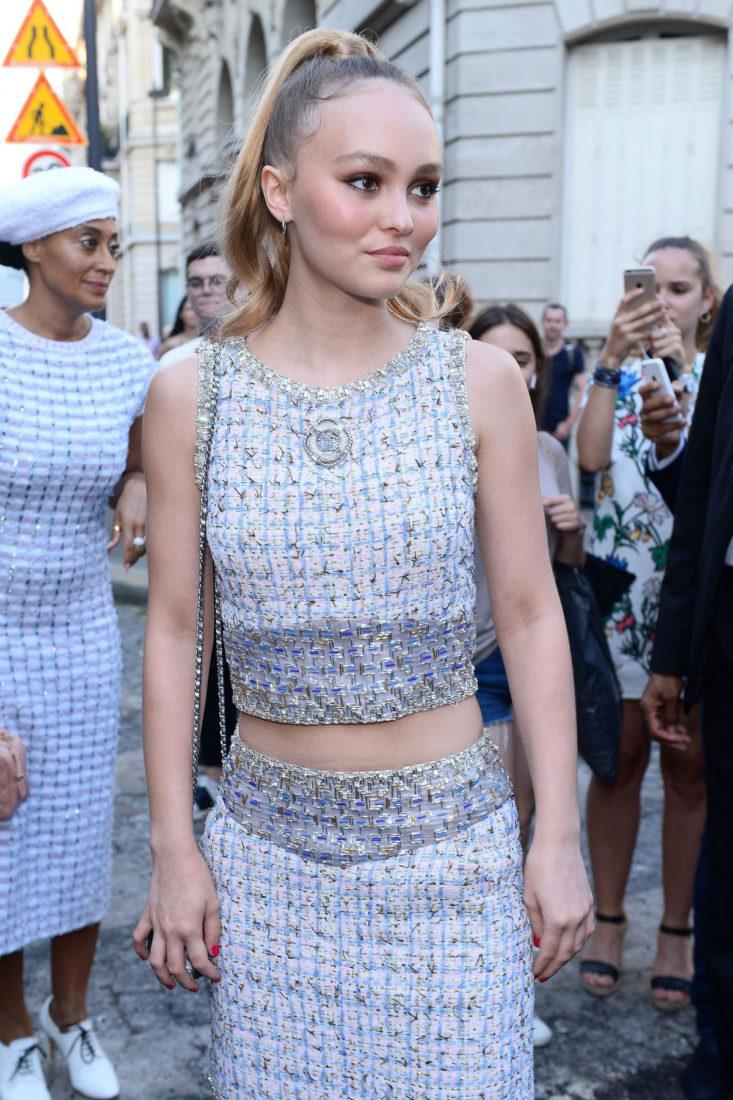 Lily-Rose Depp at Vogue Paris Foundation Gala in Paris