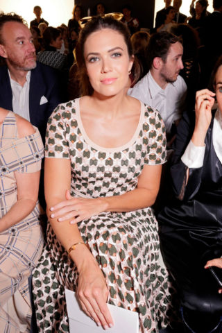Mandy Moore at Fendi Fashion Show at Paris Fashion Week