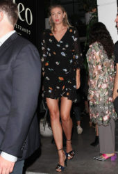 Maria Sharapova at Cleo in West Hollywood