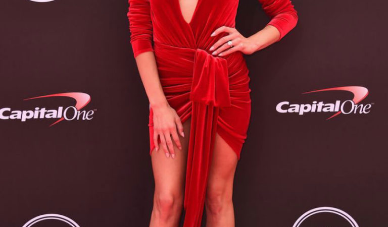 Celebrity Dresses – Nastia Liukin at Espy Awards in Los Angeles