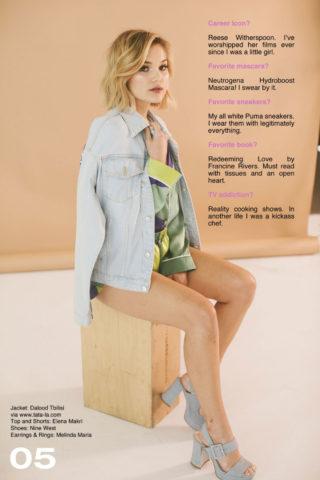 Olivia Holt for Popular TV Magazine (July 2018)