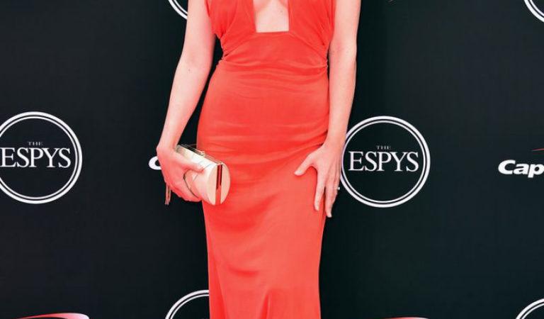 Celebrity Dresses – Paige Spiranac at Espy Awards in Los Angeles