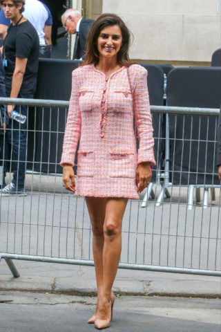 Penelope Cruz at Chanel Show at Haute Couture Fashion Week in Paris